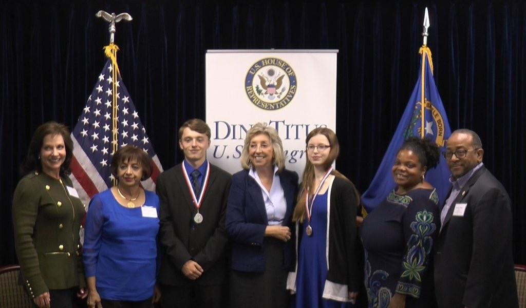 Congresswoman Dina Titus Recognizes Siblings