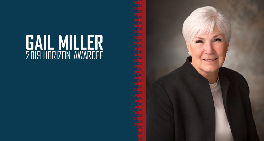 Gail Miller - Horizon Award